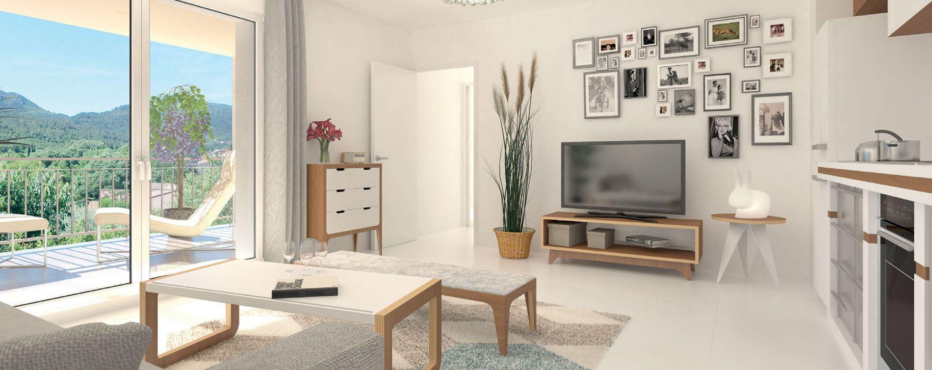Brignoles : programme immobilier neuve « Les Terrasses de Provence » en Loi Pinel (4)