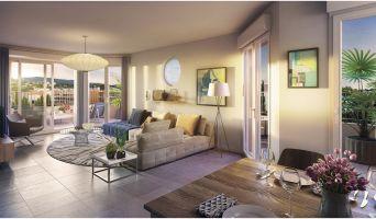 Résidence « Aquazura » programme immobilier neuf en Loi Pinel à Cavalaire-sur-Mer n°3