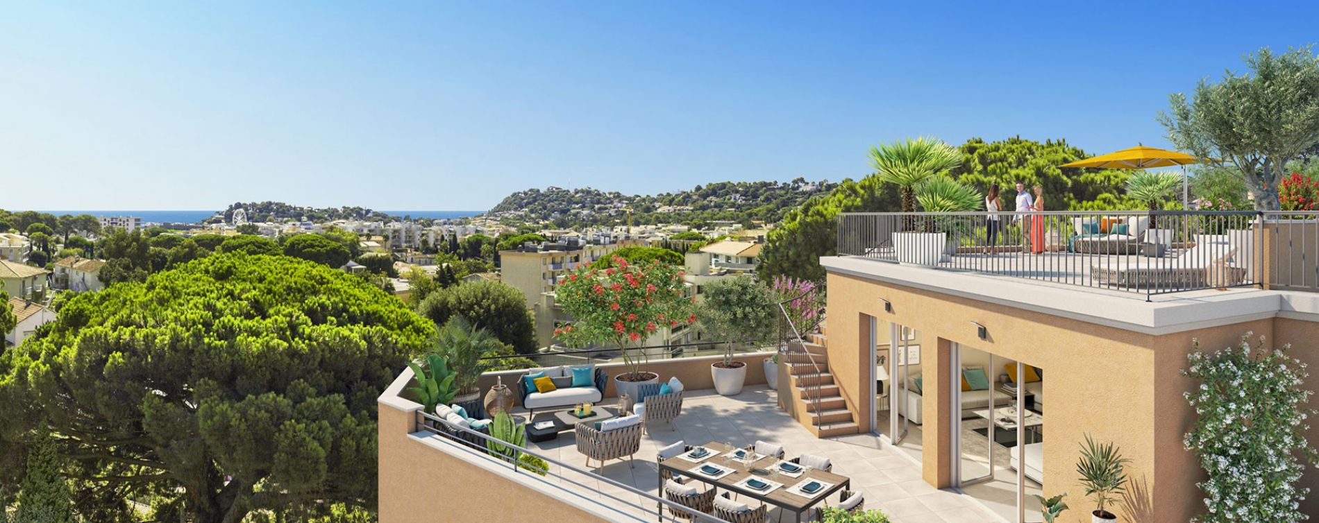 Cavalaire-sur-Mer : programme immobilier neuve « Castel Panorama » en Loi Pinel (2)