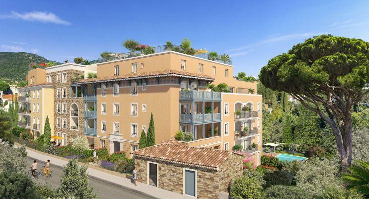 Cavalaire-sur-Mer : programme immobilier neuf « Castel Panorama » en Loi Pinel
