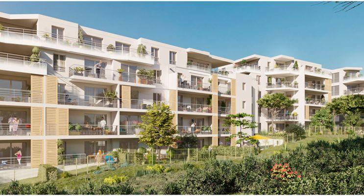 Résidence « Val D'Azur » programme immobilier neuf en Loi Pinel à Cavalaire-sur-Mer n°2