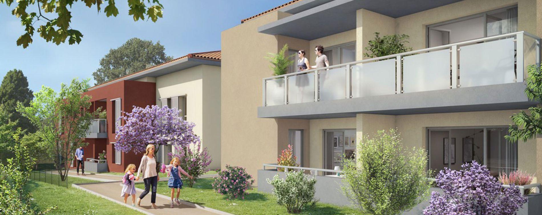 Cogolin : programme immobilier neuve « Eden Cogolin » en Loi Pinel
