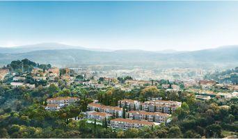 Cogolin : programme immobilier neuf « Infini d'Azur » en Loi Pinel
