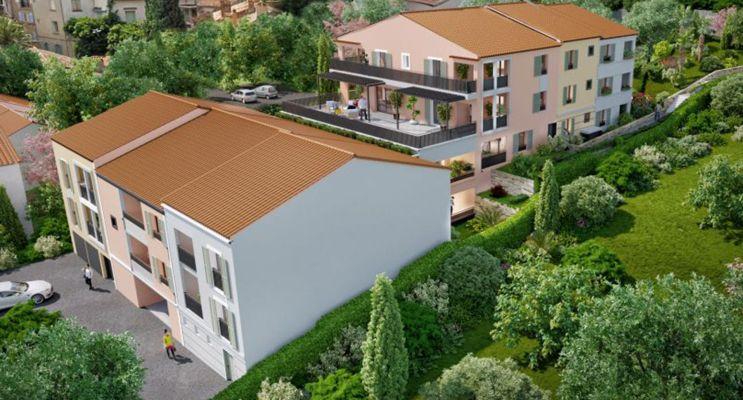 Photo du Résidence « Les Restanques » programme immobilier neuf en Loi Pinel à Cogolin