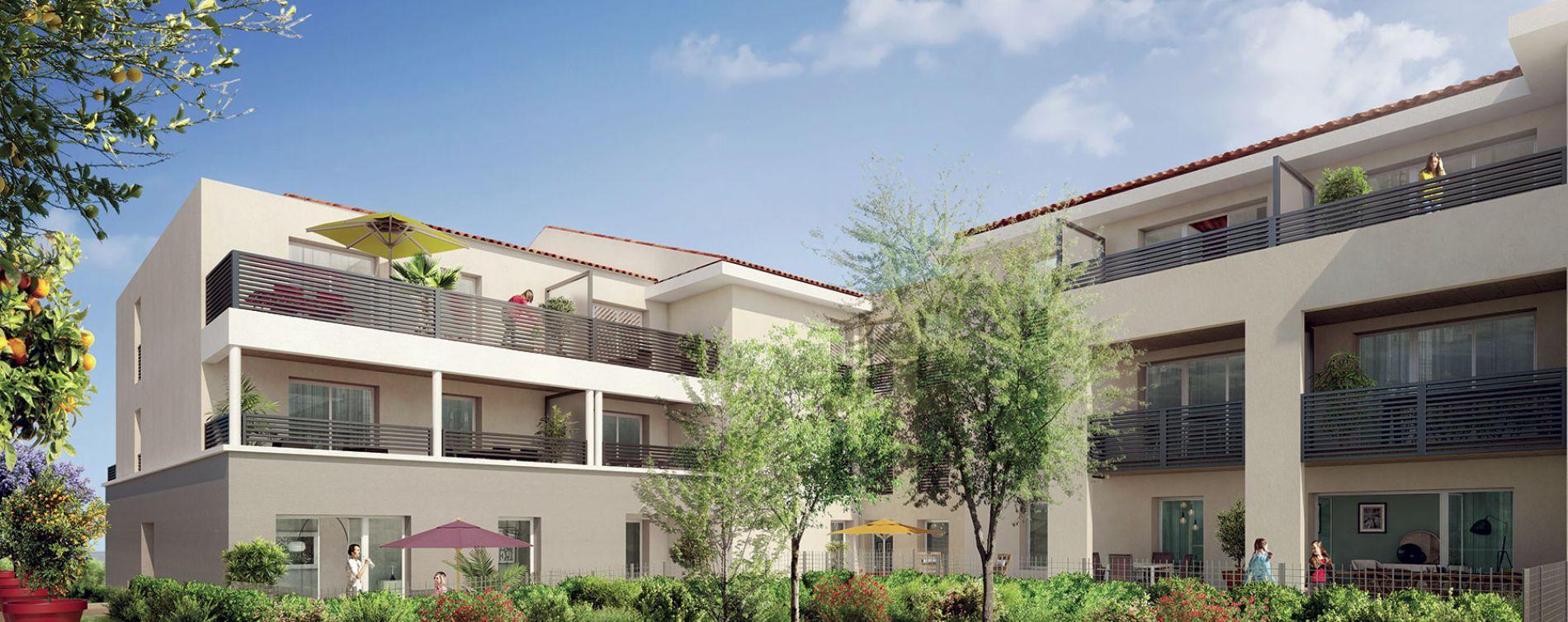 Cuers : programme immobilier neuve « Le Domaine d'Oppida »