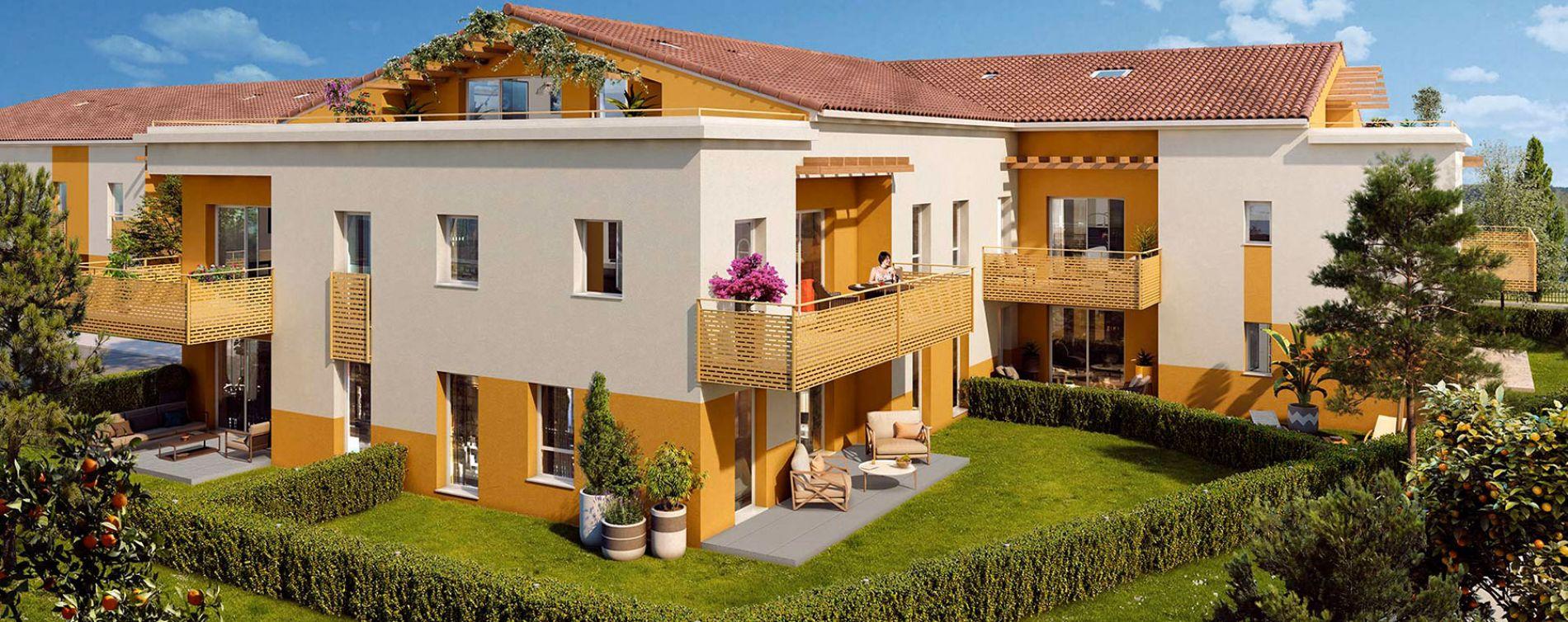 Résidence Les Jardins des Aubépines à Draguignan