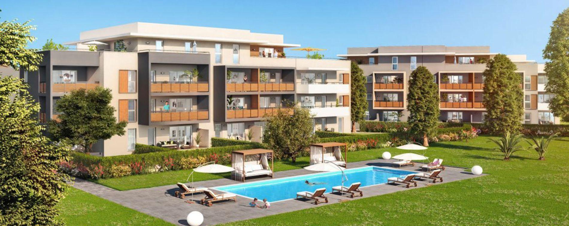 Fréjus : programme immobilier neuve « Esterel Grand Parc » (3)