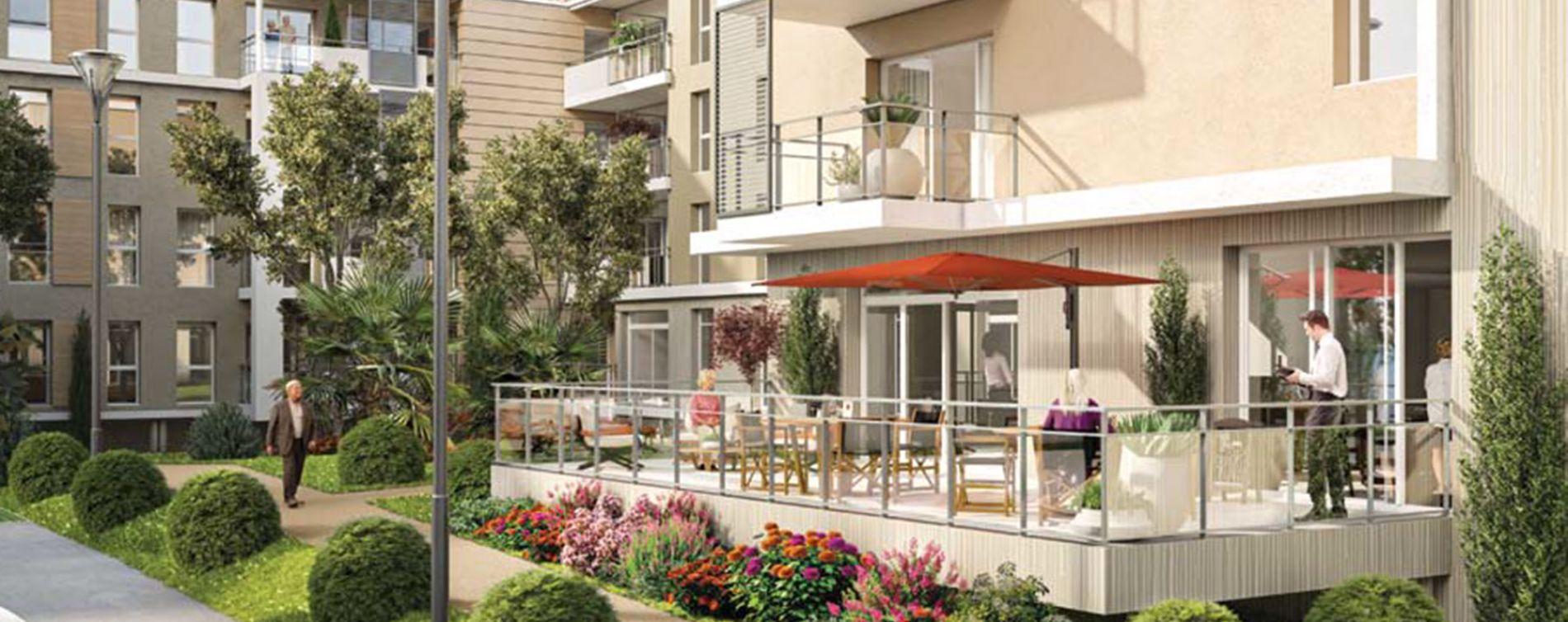 Fréjus : programme immobilier neuve « Les Balcons de la Villa Marina » (2)