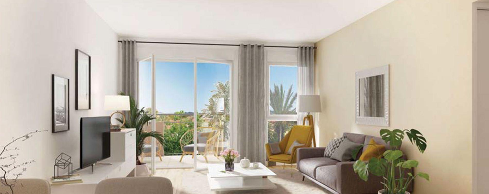 Fréjus : programme immobilier neuve « Les Balcons de la Villa Marina » (3)