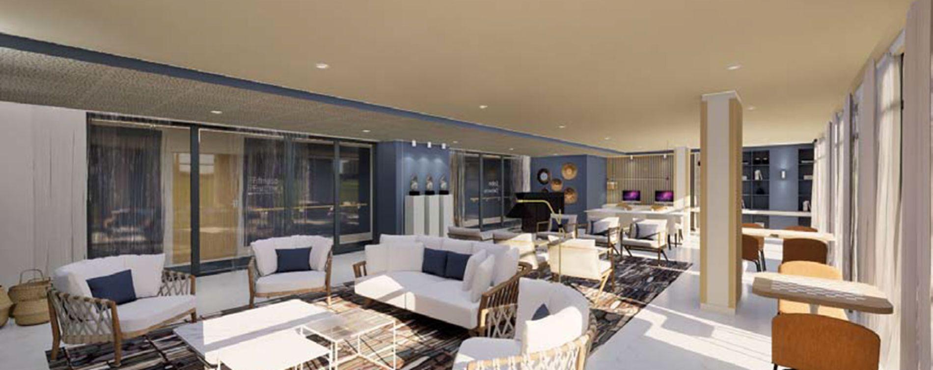 Fréjus : programme immobilier neuve « Les Balcons de la Villa Marina » (4)