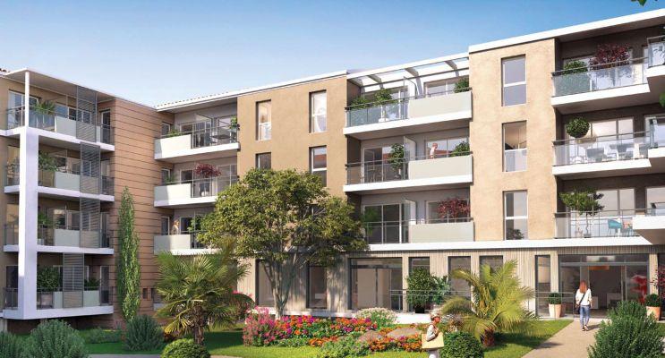 Fréjus : programme immobilier neuf « Les Balcons de la Villa Marina »