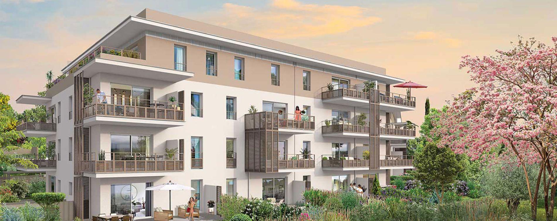 Fréjus : programme immobilier neuve « Primavera »