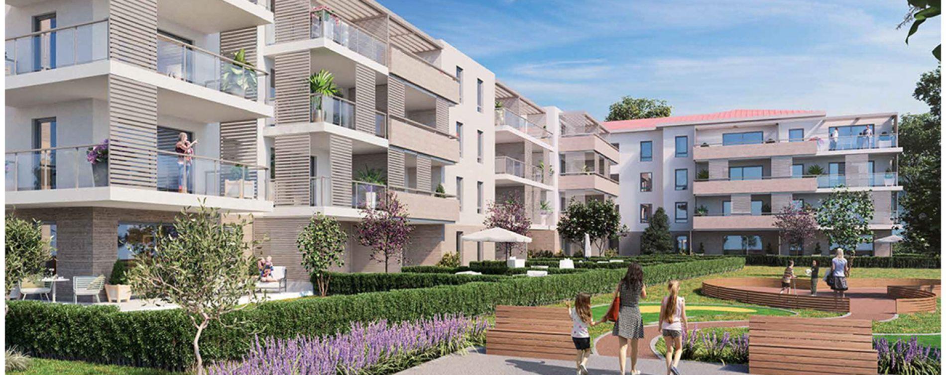 Fréjus : programme immobilier neuve « Primavera » (2)