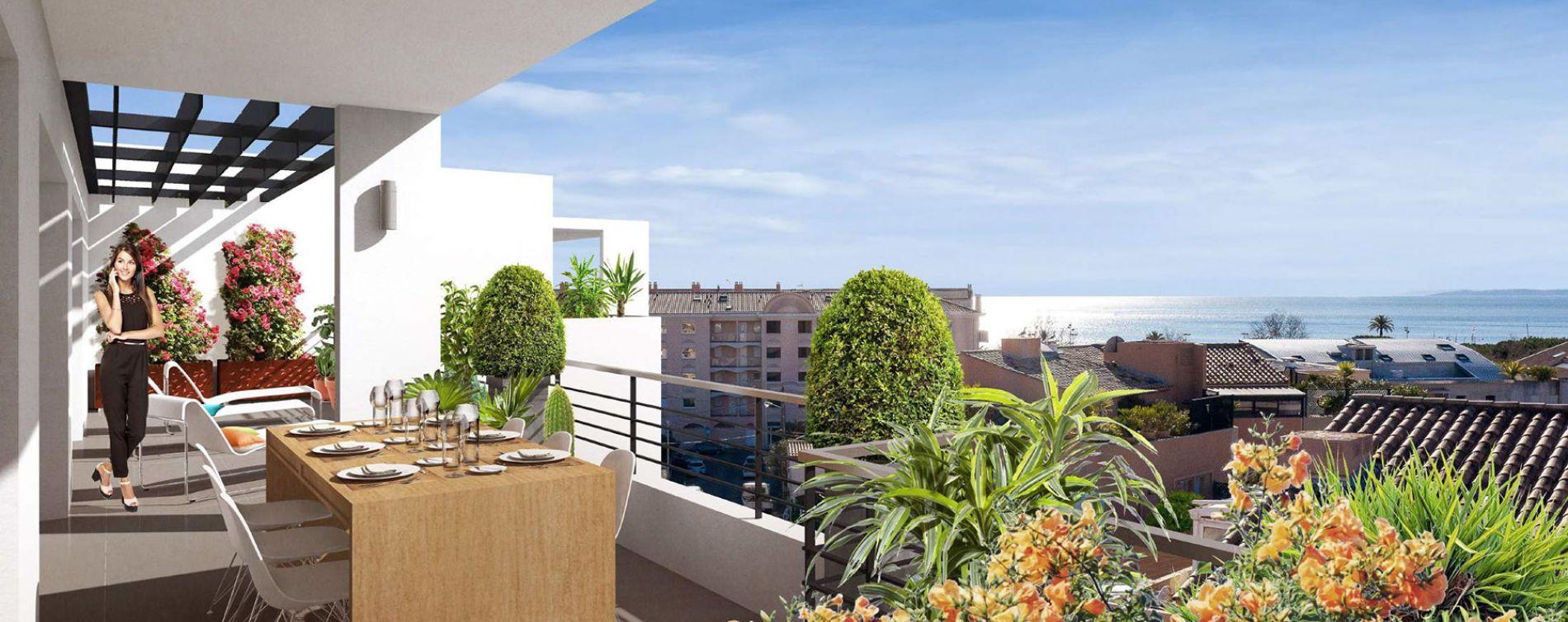 Fréjus : programme immobilier neuve « Terra Tosca » en Loi Pinel