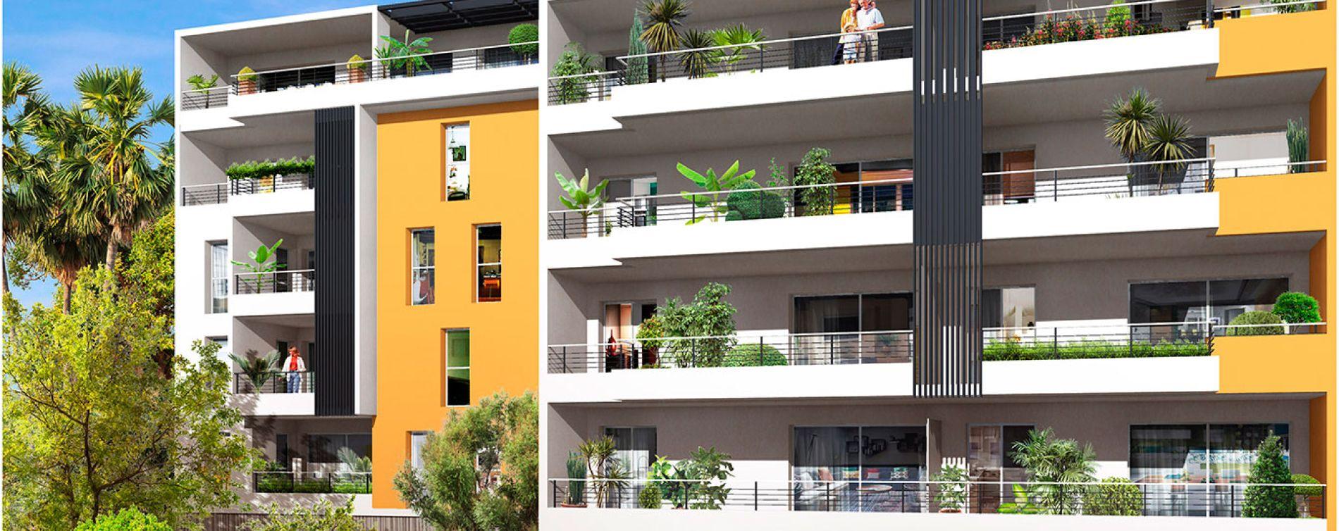 Fréjus : programme immobilier neuve « Terra Tosca » en Loi Pinel (2)