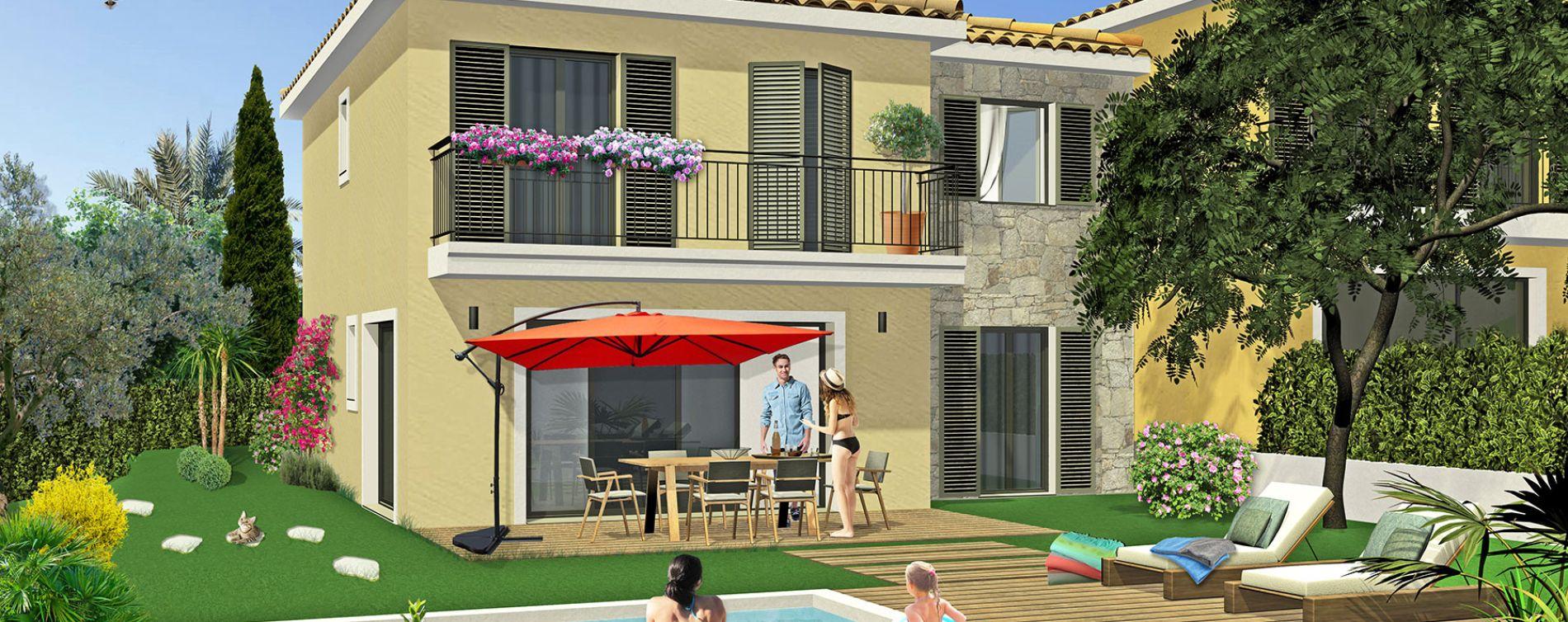 Gassin : programme immobilier neuve « Dolce Villas »