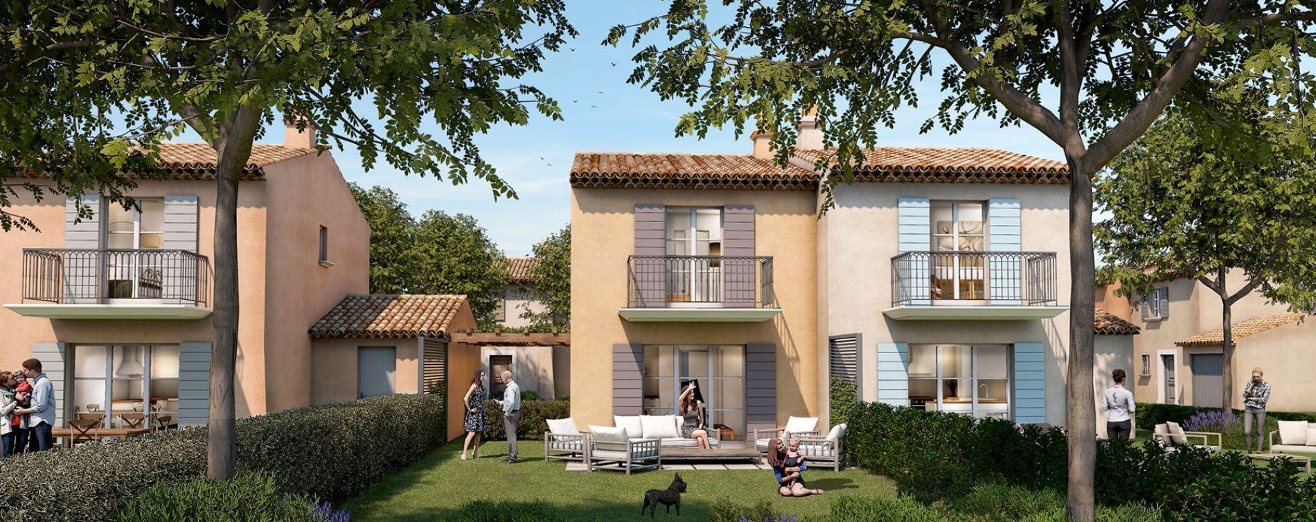 Grimaud : programme immobilier neuve « Domaine des Fées »