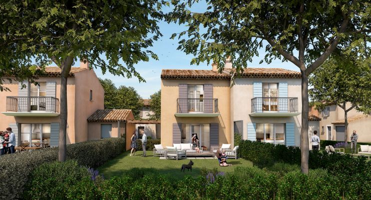 Photo du Résidence « Domaine des Fées » programme immobilier neuf en Loi Pinel à Grimaud