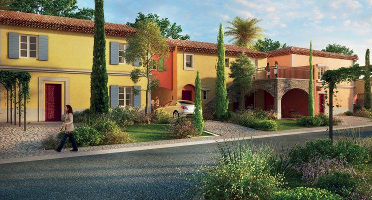 Photo du Résidence « Les Jardins d'Adélaïde » programme immobilier neuf en Loi Pinel à Grimaud