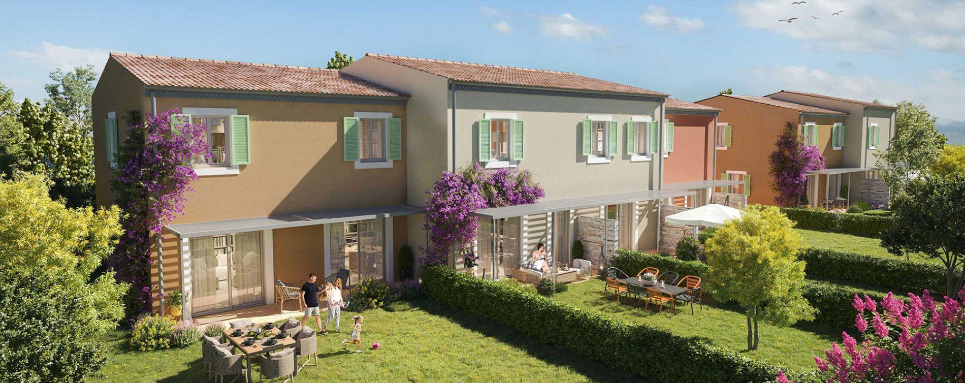 Grimaud : programme immobilier neuve « Villa Pietra » en Loi Pinel