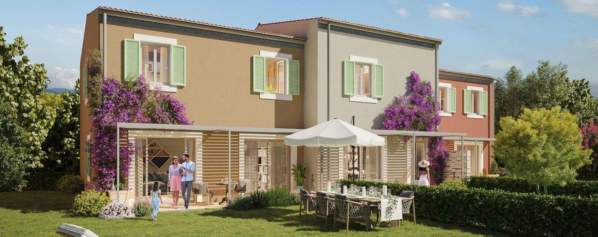 Grimaud : programme immobilier neuve « Villa Pietra » en Loi Pinel (2)