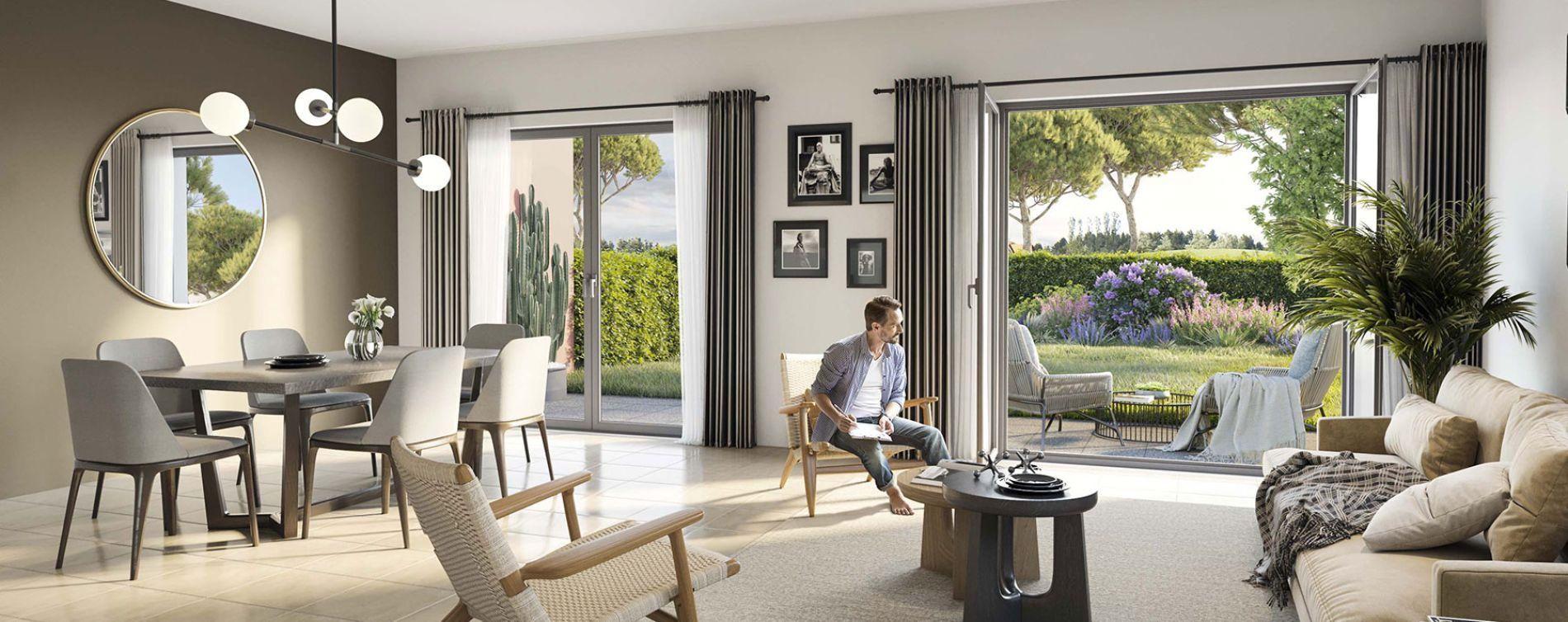 Grimaud : programme immobilier neuve « Villa Pietra » en Loi Pinel (3)