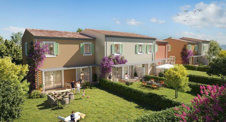 Grimaud programme immobilier neuf « Villa Pietra » en Loi Pinel