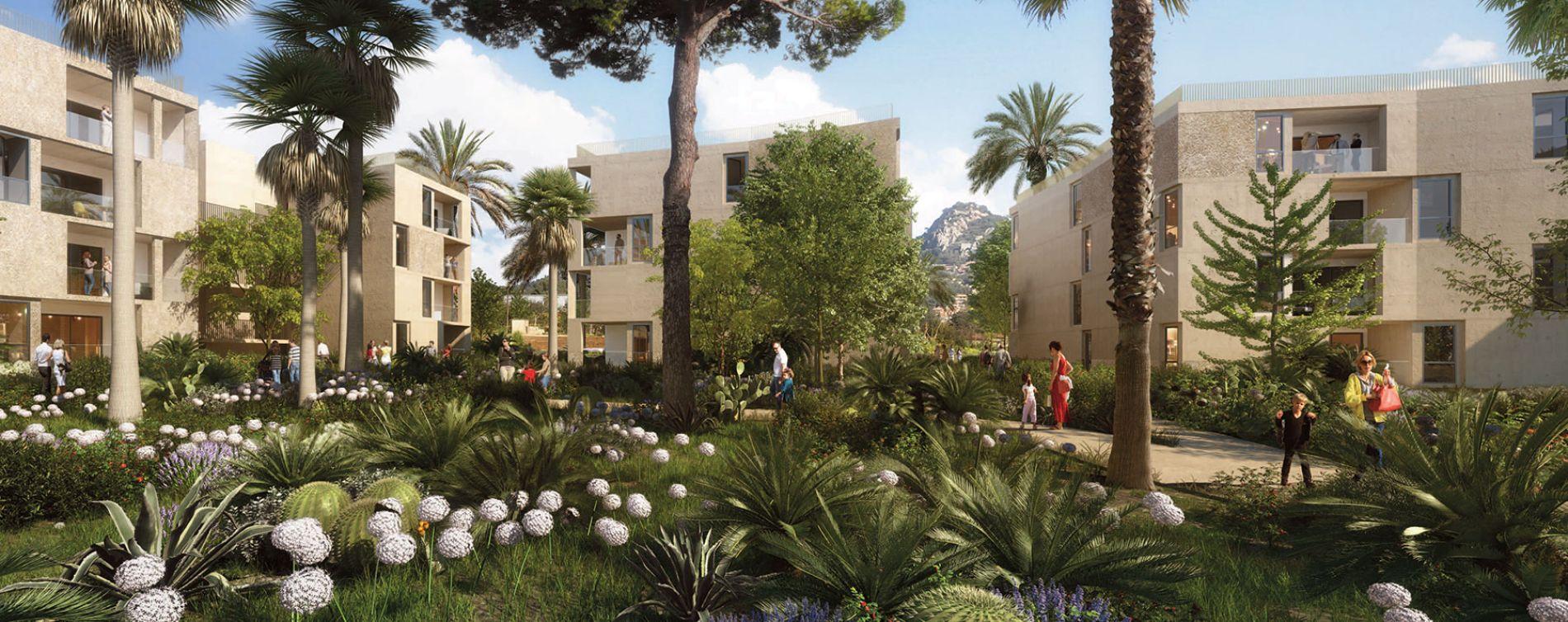Hyères : programme immobilier neuve « Le Versant des Roches »