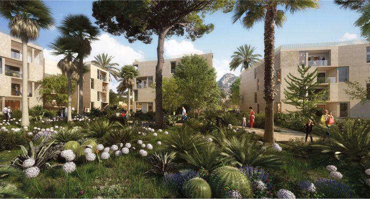 Hyères programme immobilier neuf « Le Versant des Roches » en Loi Pinel