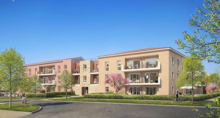 Résidence « Les Jardins De La Bayorre » programme immobilier neuf en Loi Pinel à Hyères n°1