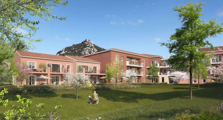 Résidence « Les Jardins De La Bayorre » programme immobilier neuf en Loi Pinel à Hyères n°2