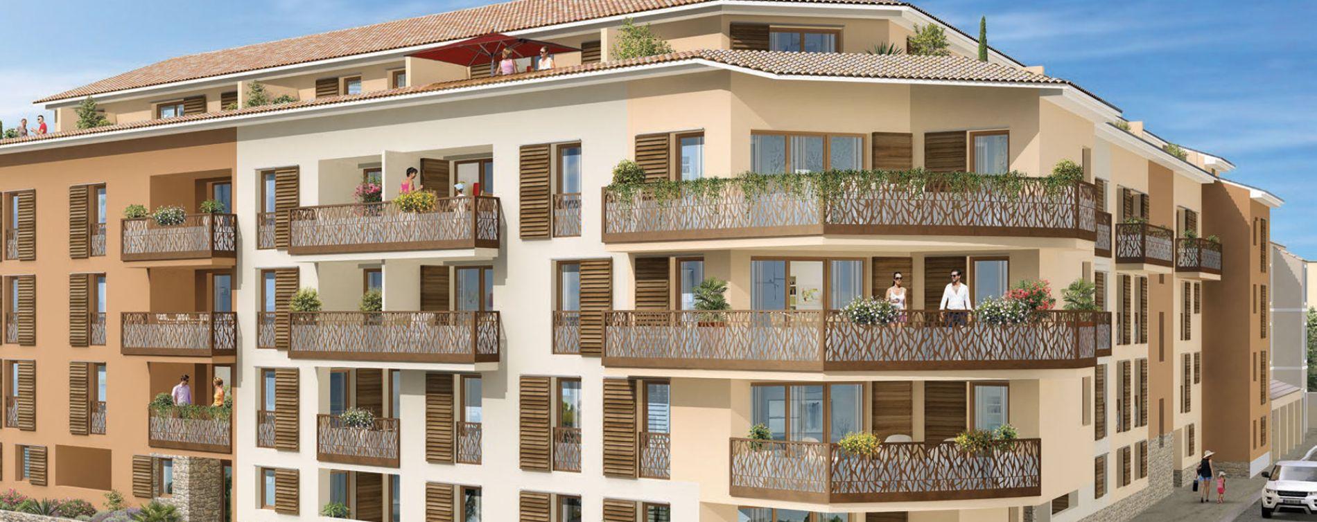 Hyères : programme immobilier neuve « ViaSolà » en Loi Pinel