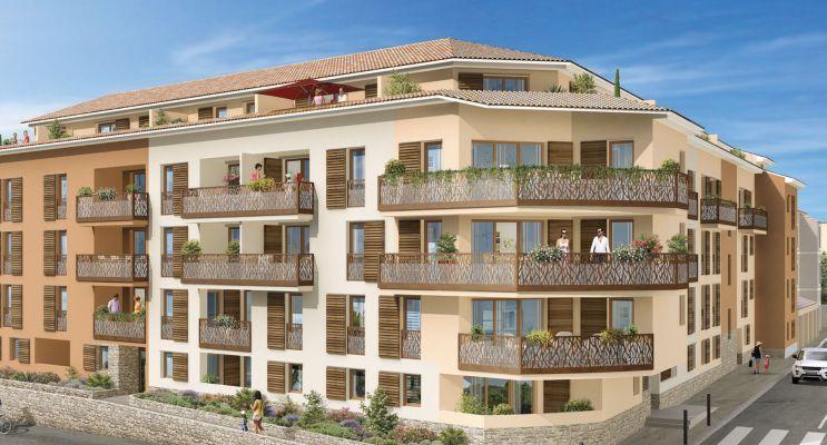 Hyères : programme immobilier neuf « ViaSolà » en Loi Pinel