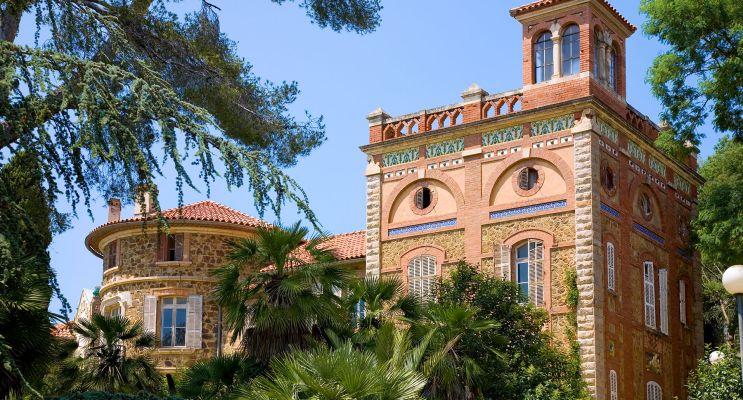 La Londe-les-Maures : programme immobilier à rénover « Château Horace Vernet » en Déficit Foncier