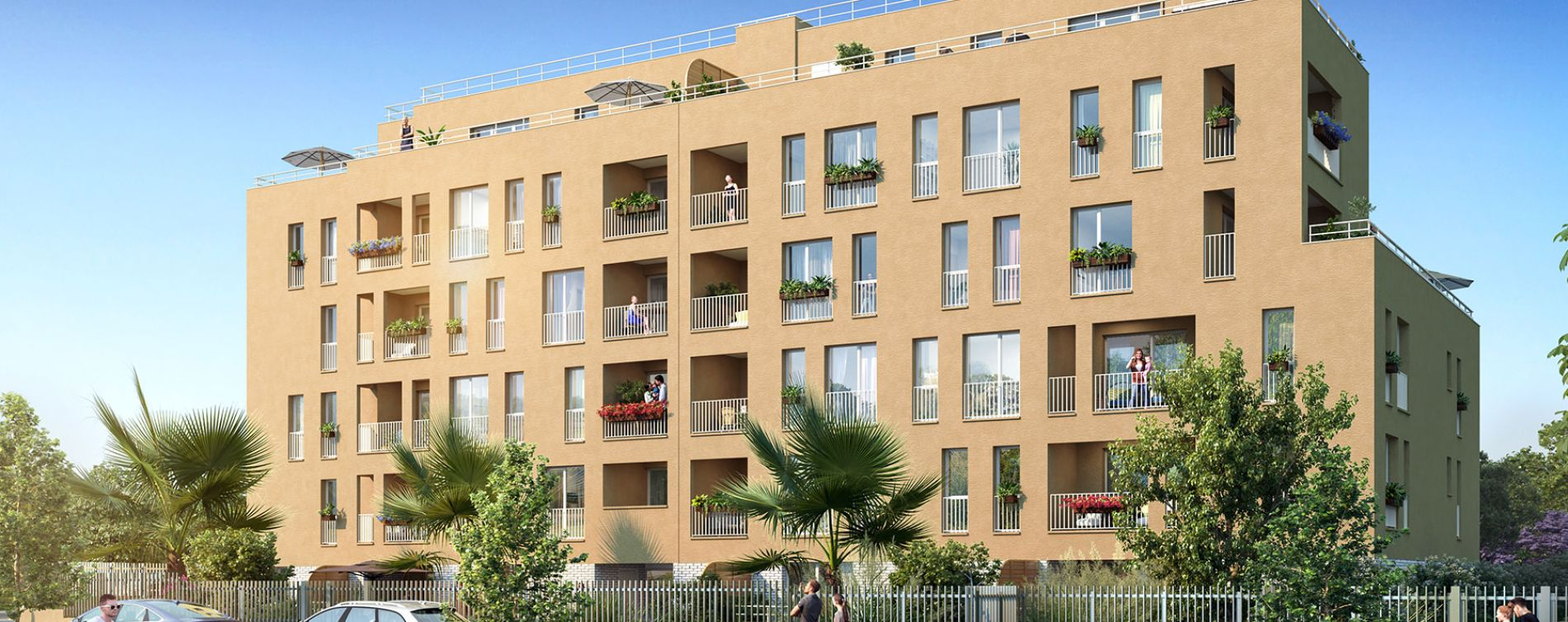 La Seyne-sur-Mer : programme immobilier neuve « Programme immobilier n°218566 » en Loi Pinel