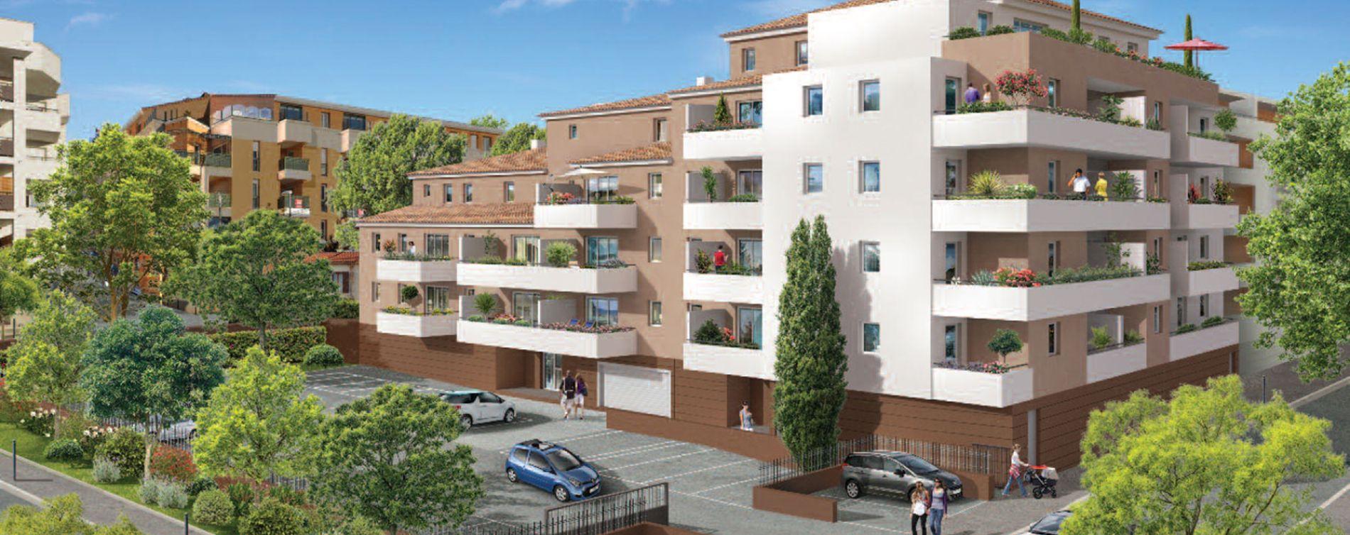 La Seyne-sur-Mer : programme immobilier neuve « L'Albatros »