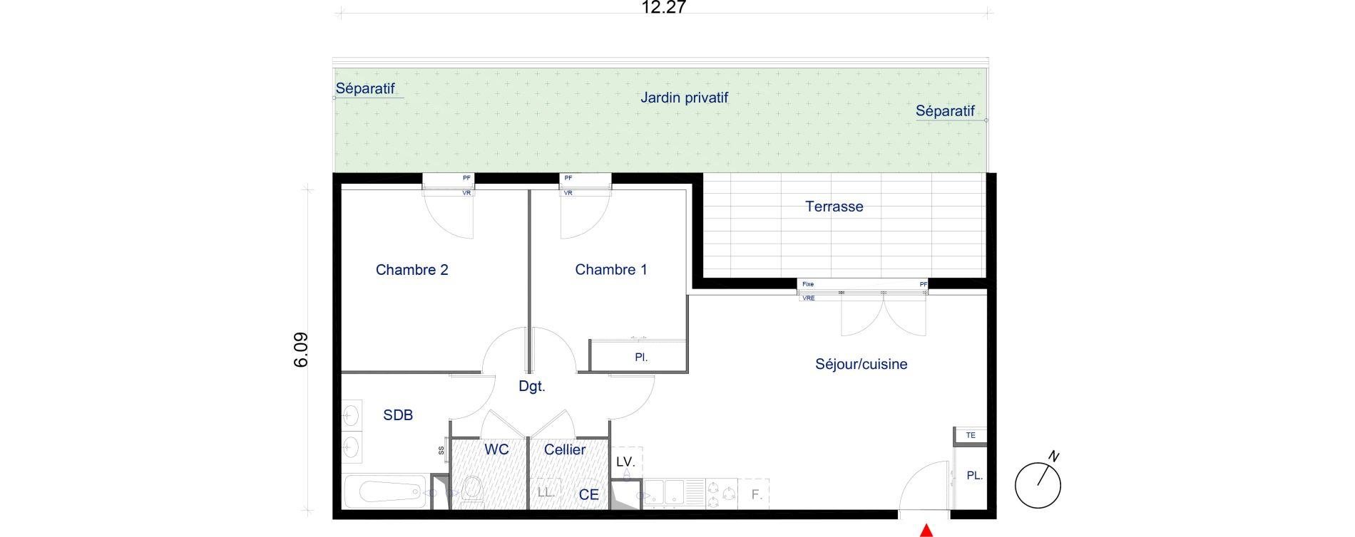 Appartement T3 de 61,33 m2 à La Seyne-Sur-Mer La seyne sur mer centre