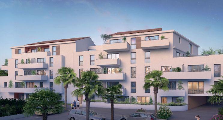 La Seyne-sur-Mer : programme immobilier neuf « Le Clos Tamaris » en Loi Pinel