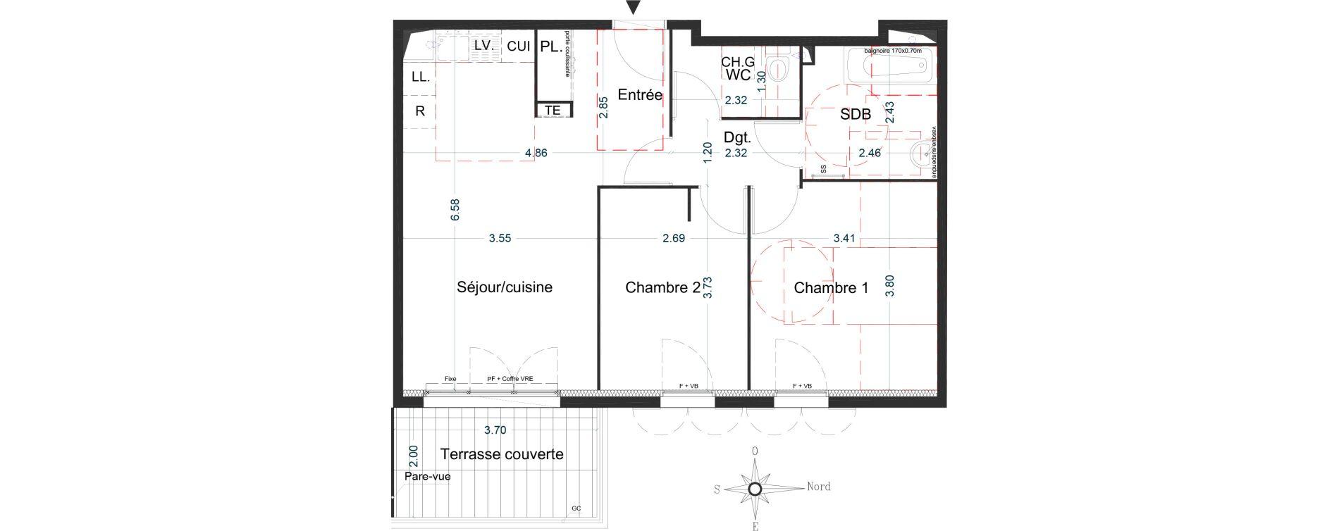 Appartement T3 de 61,04 m2 à La Seyne-Sur-Mer La seyne sur mer centre