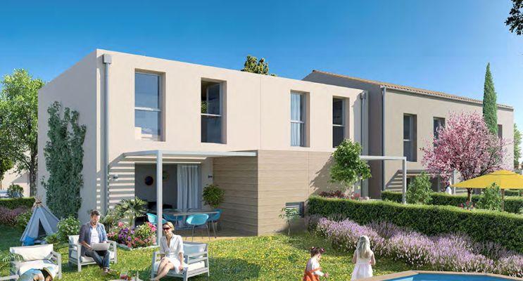 Résidence « Le Jardin Des Cistes » programme immobilier neuf en Loi Pinel à Le Cannet-des-Maures