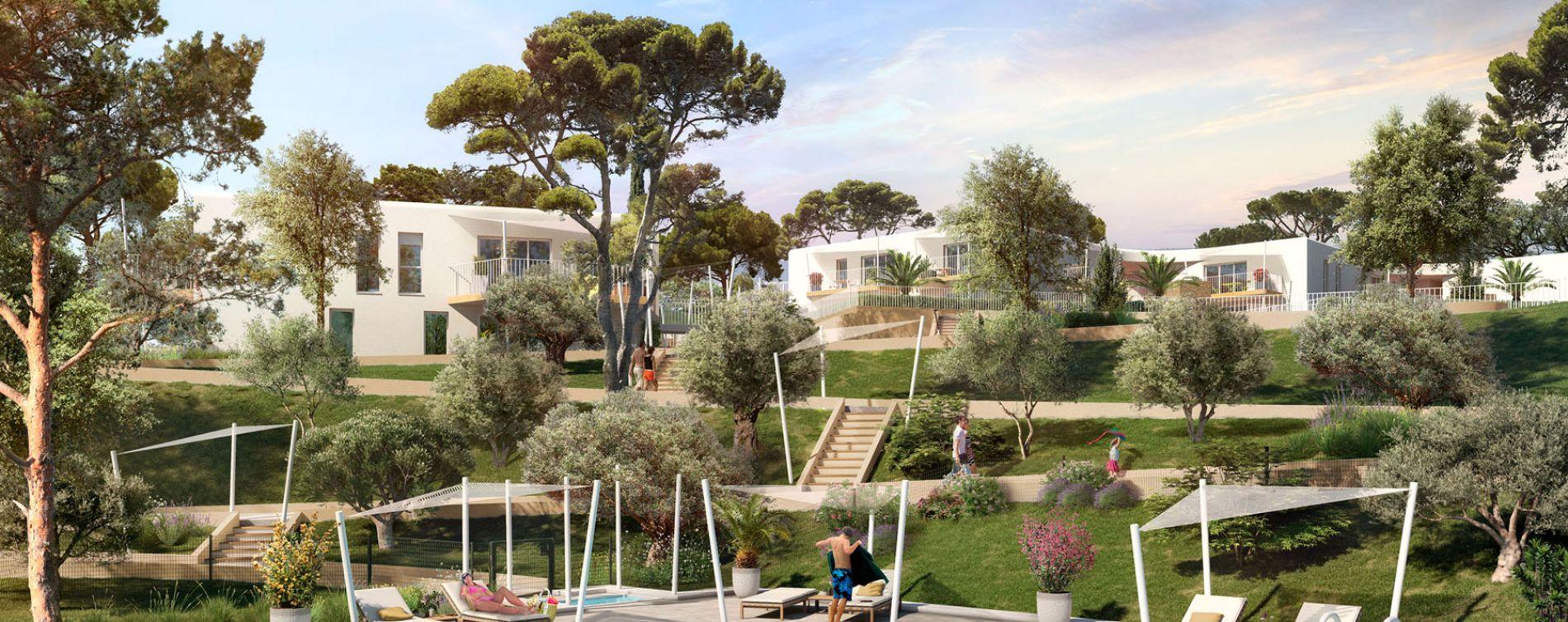 Le Lavandou : programme immobilier neuve « Eleganza » en Loi Pinel