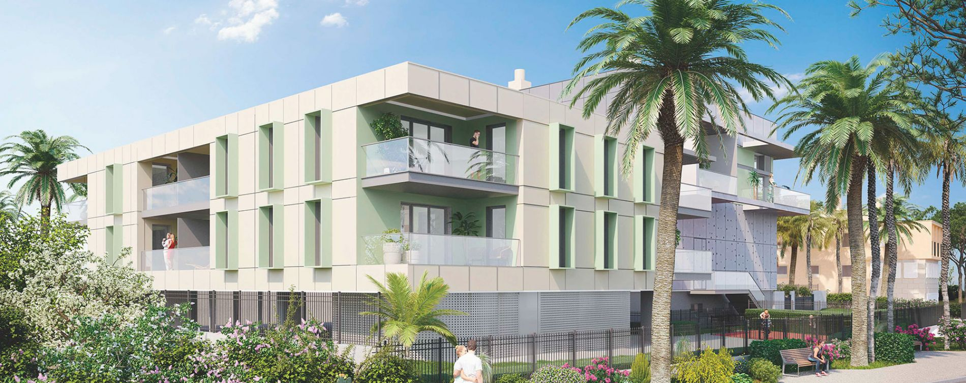 Le Lavandou : programme immobilier neuve « Nouvelle Ère »