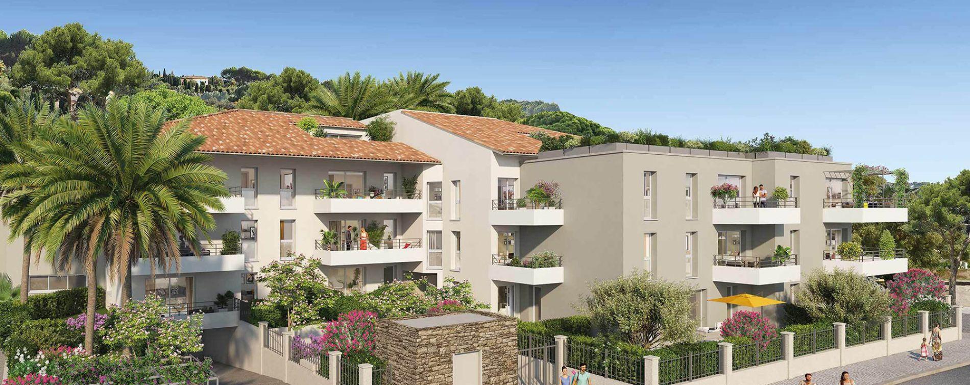 Le Lavandou : programme immobilier neuve « Pavillon Ravello » en Loi Pinel