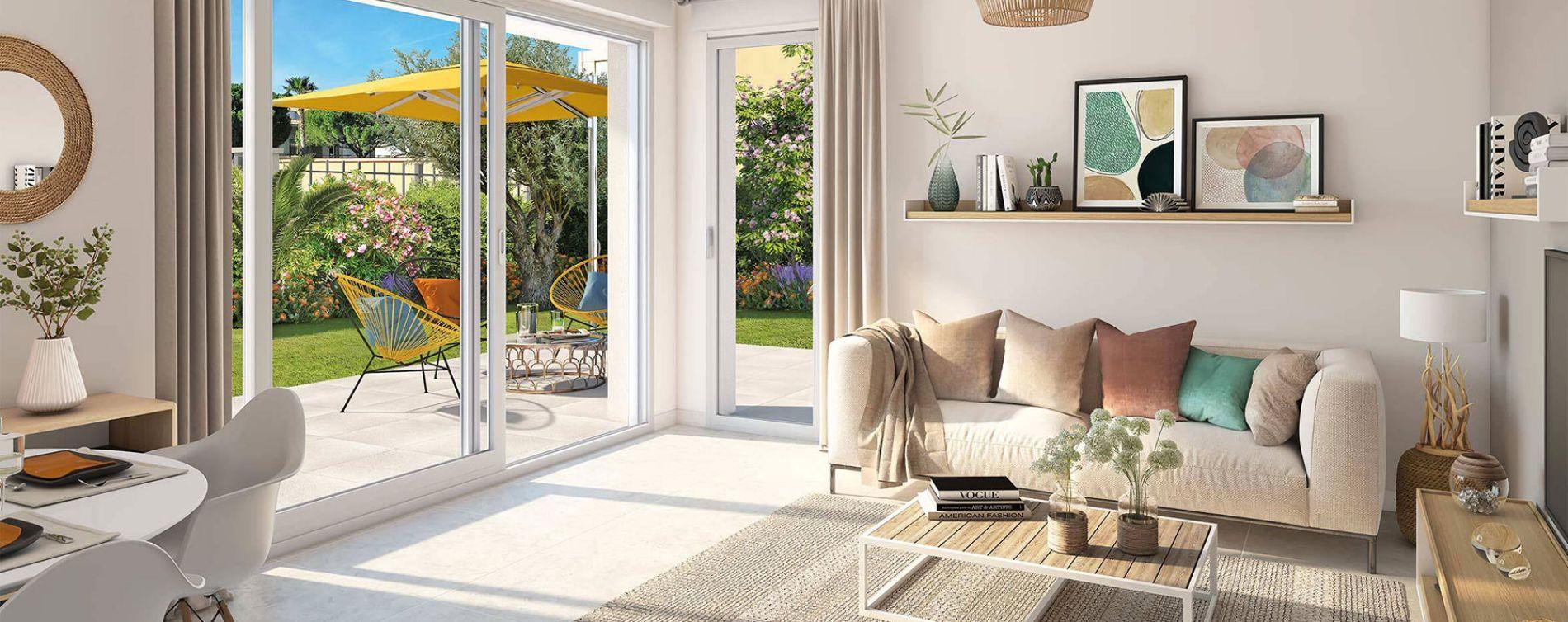 Le Lavandou : programme immobilier neuve « Pavillon Ravello » en Loi Pinel (5)