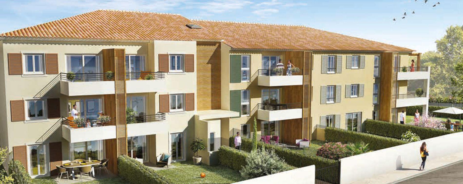 Ollioules : programme immobilier neuve « Orphée »