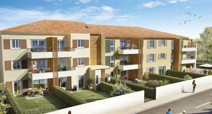 Photo du Résidence « Orphée » programme immobilier neuf en Loi Pinel à Ollioules