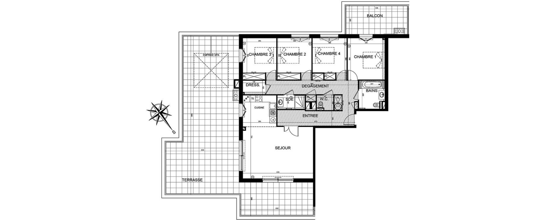 Appartement T5 de 114,91 m2 à Puget-Sur-Argens Centre