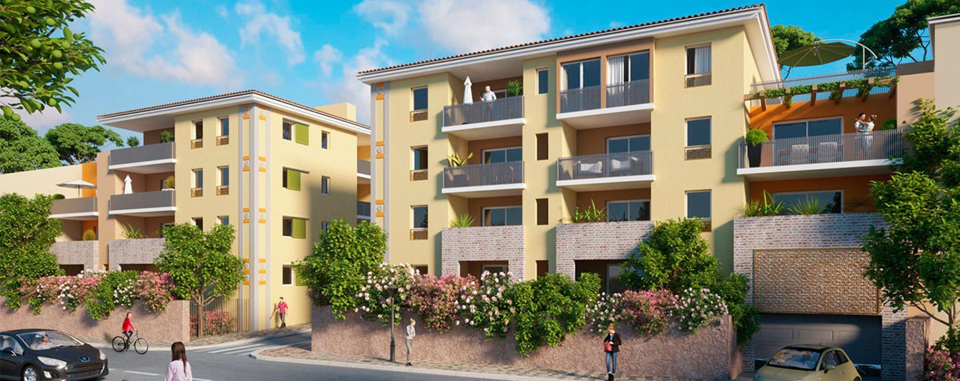 Puget-sur-Argens : programme immobilier neuve « Oustau Verde »