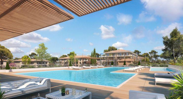 Photo du Résidence « Royal Green » programme immobilier neuf en Loi Pinel à Roquebrune-sur-Argens