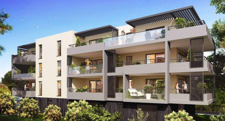 Photo du Résidence « Carré Aurélien » programme immobilier neuf en Loi Pinel à Saint-Raphaël